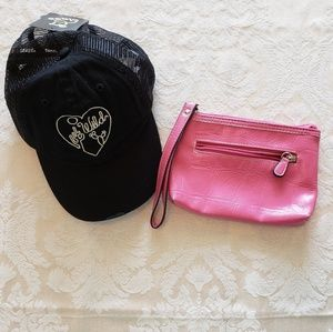 4/$25 Girls hat and purse bundle